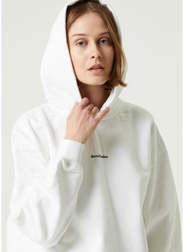 Acne Studios Sweatshirt Beyaz